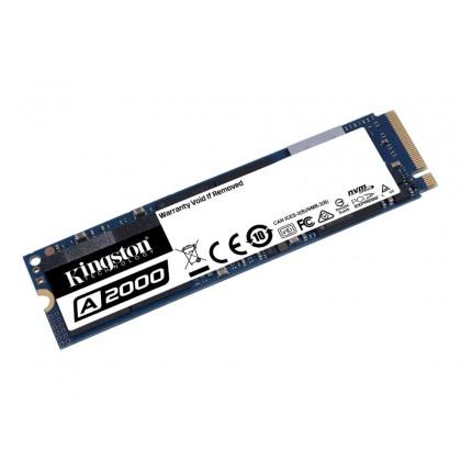 .M.2 NVMe SSD   500GB Kingston A2000 [PCIe 3.0 x4, R/W:2200/2000MB/s, 180/200K IOPS, SM2263, 3DTLC]