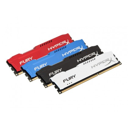 32GB DDR4-3733MHz  Kingston HyperX FURY (Kit of 2x16GB) (HX437C19FB3K2/32), CL19-23-23, 1.35V, Black