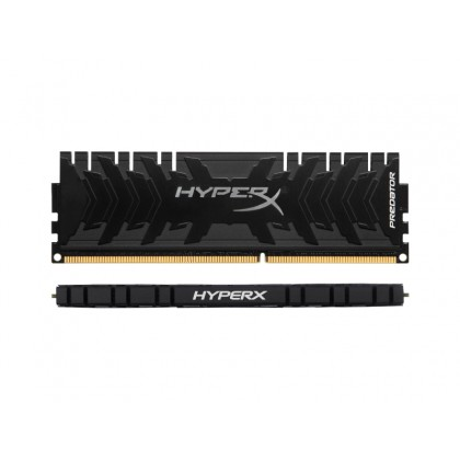 16GB DDR4-3333MHz  Kingston HyperX Predator (HX433C16PB3/16), CL16-18-18,1.35V, Intel XMP 2.0, Black