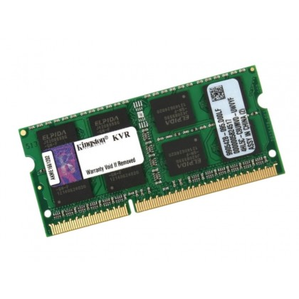 4GB DDR3-1600 SODIMM  Kingston ValueRam, PC12800, CL11, 1.5V