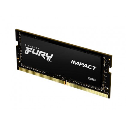 4GB DDR3 1600MHz SODIMM 204pin Kingston FURY Impact (KF316LS9IB/4), CL9-9-9, 1.35V, Black