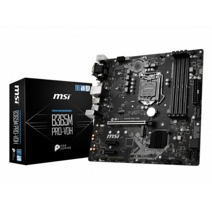 MB MSI B365M PRO-VDH, mATX