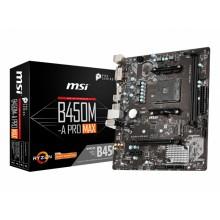 MB MSI B450M-A PRO MAX, mATX