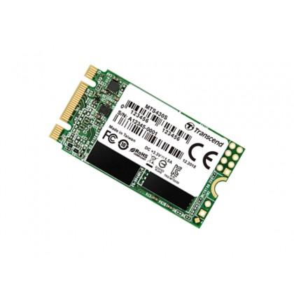 """.M.2 SATA SSD  128GB Transcend  """"TS128GMTS430S"""" [42mm, R/W:560/380MB/s, 35K/80K IOPS, SM2258, 3DTLC]"""