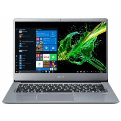 "ACER Swift 3 Sparkly Silver (NX.HFDEU.011) 14.0"" IPS FHD (AMD Ryzen 3 3200U 8GB 256GB SSD Radeon Vega 3 Graphics No OS)"