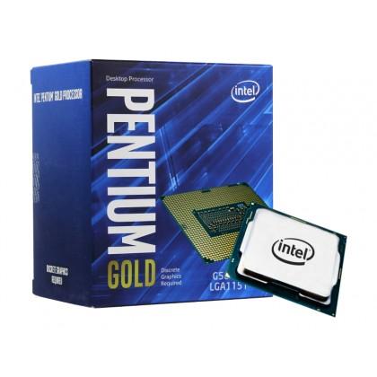 CPU Intel Pentium G6400 4.0GHz (2C/4T, 4MB, S1200, 14nm,Integrated UHD Graphics 610, 58W) Box