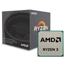 AMD Ryzen 3 1200 AF, Socket AM4, 3.1-3.4GHz (4C/4T), 8MB L3, No Integrated GPU, Zen+, 12nm 65W, Box (with Wraith Stealth Cooler)