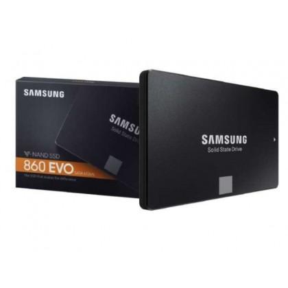"2.5"" SATA SSD 1.0TB Samsung  860 EVO ""MZ-76E1T0BW"" [R/W:550/520MB/s, 98K IOPS, MJX, V-NAND 3bit MLC]"