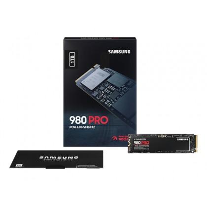.M.2 NVMe SSD 1.0TB Samsung 980 PRO [PCIe 4.0 x4, R/W:7000/5000MB/s, 1000K/1000K IOPS, Elpis, 3DTLC]