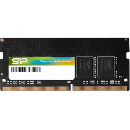 8GB DDR4-2666 SODIMM  Silicon Power, PC21300, CL19, 1Gx8, Single Rank, 1.2V