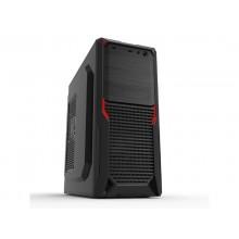 Case ATX 500W Sohoo 5912BR, 1xUSB3.0, 1xUSB2.0, Black-Red, ATX-500W-12cm
