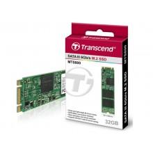 """M.2 SATA SSD    32GB Transcend """"TS32GMTS800S"""" [80mm, R/W:500/450MB/s, 70K/75K IOPS, SM2246EN, MLC]"""