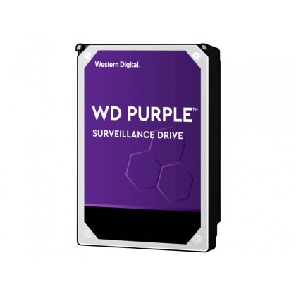 "3.5"" HDD  1.0TB-SATA- 64MB  Western Digital ""Purple Surveillance (WD10PURZ)"""