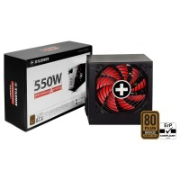 "PSU XILENCE XP550MR11, 550W, ""Performance A+ III"" Series / Semi-Modular,  ATX 2.52, 80 PLUS® BRONZE Active PFC, 120mm fan"