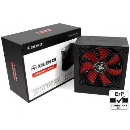 "PSU XILENCE XP700R6, 700W, ""Performance C"" Series, ATX 2.3.1, 80 PLUS ErP2014 norm, Active PFC, 120mm fan"