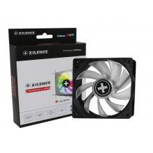 "120mm Case Fan - XILENCE Performance A+ Series ""XPF120RGB"" RGB LED Fan: 120x120x25mm, 700~1600rpm, <18~32.5dBa, 70CFM, PWM, hydro bearing, Female RGB 4Pin, Black"