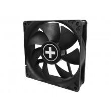 80mm Case Fan - XILENCEXPF80.W Fan, 80x80x25mm, 1800rpm, <20dBa, 21.8 CFM, hydro bearing, Big 4Pin and 3Pin Molex, Black, White Box