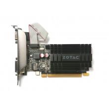 ZOTAC GeForce GT710 Zone Edition 1GB GDDR3, 64bit, 954/1600Mhz, Passive Heatsink, HDCP, DVI-D, HDMI, VGA, Low profile, 2x LP bracket included, Lite Pack